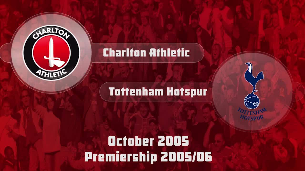 08 HIGHLIGHTS | Charlton 2 Tottenham 3 (Oct 2005)