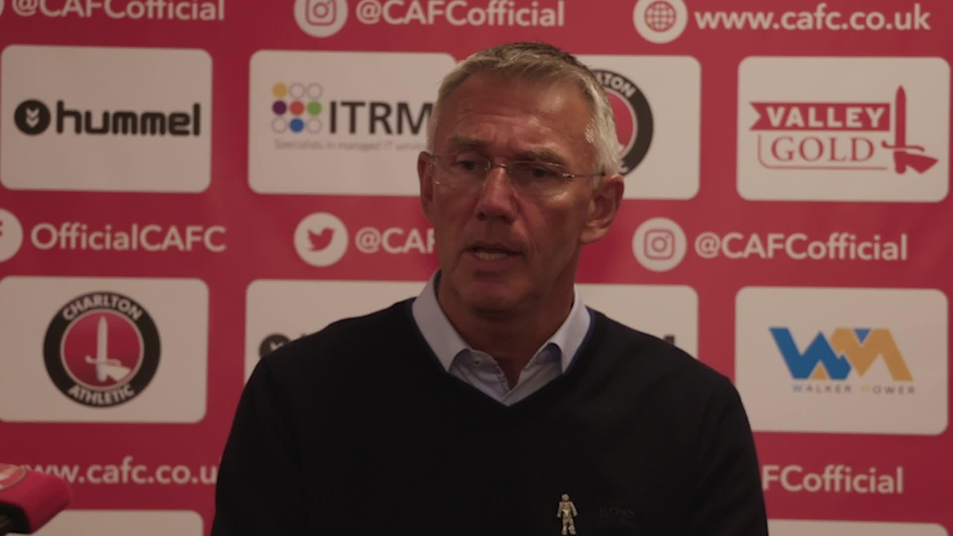 Nigel Adkins post-AFC Wimbledon press conference (August 2021)