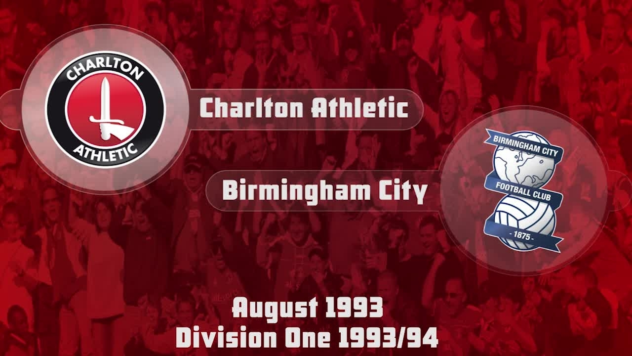 01 HIGHLIGHTS | Charlton 1 Birmingham 0 (Aug 1993)