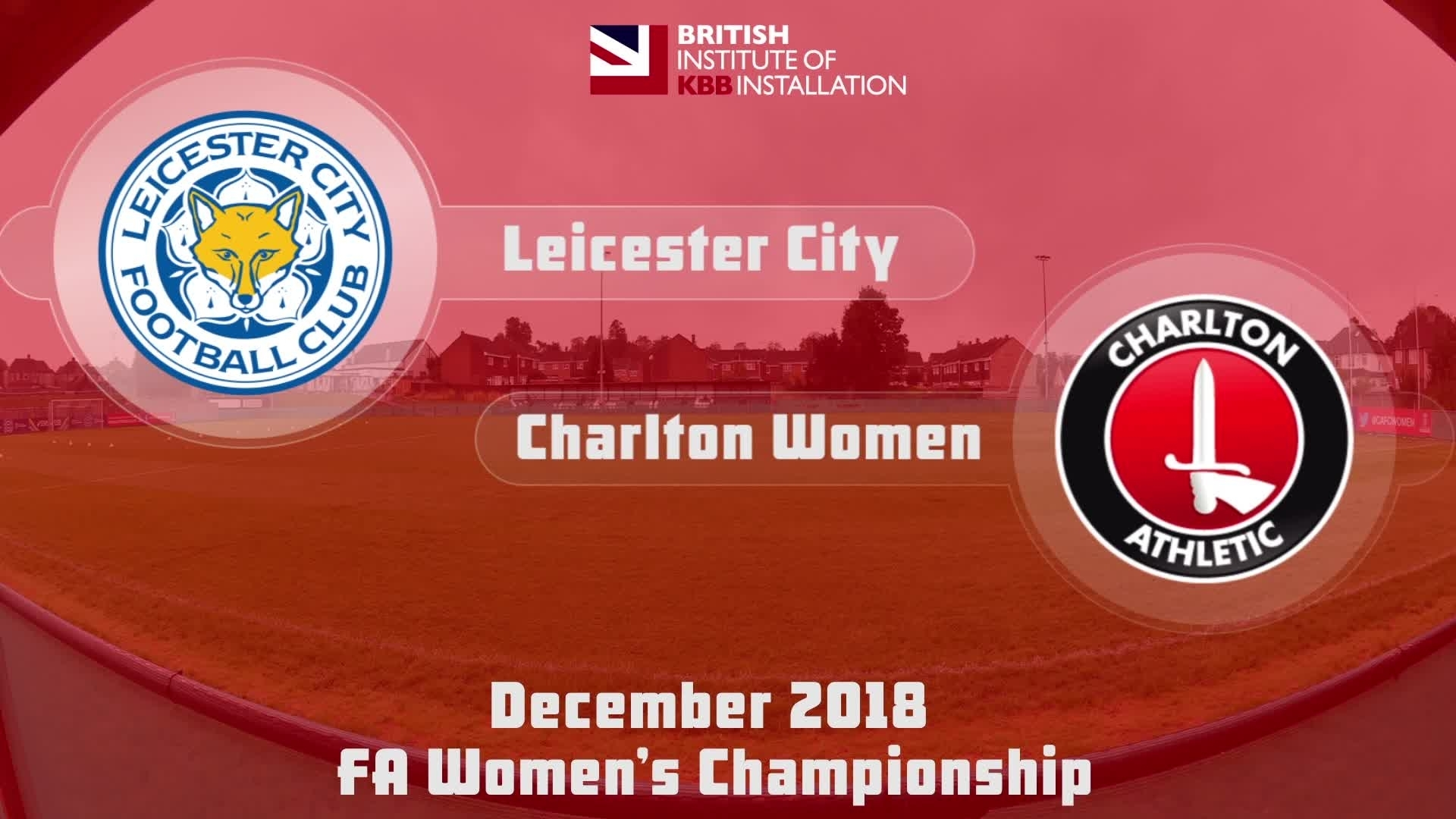 WOMEN HIGHLIGHTS | Leicester 0 Charlton 4 (Dec 2018)