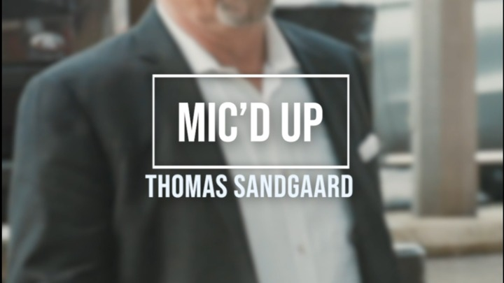 Mic'd Up | Thomas Sandgaard - Sunderland (October 2020)