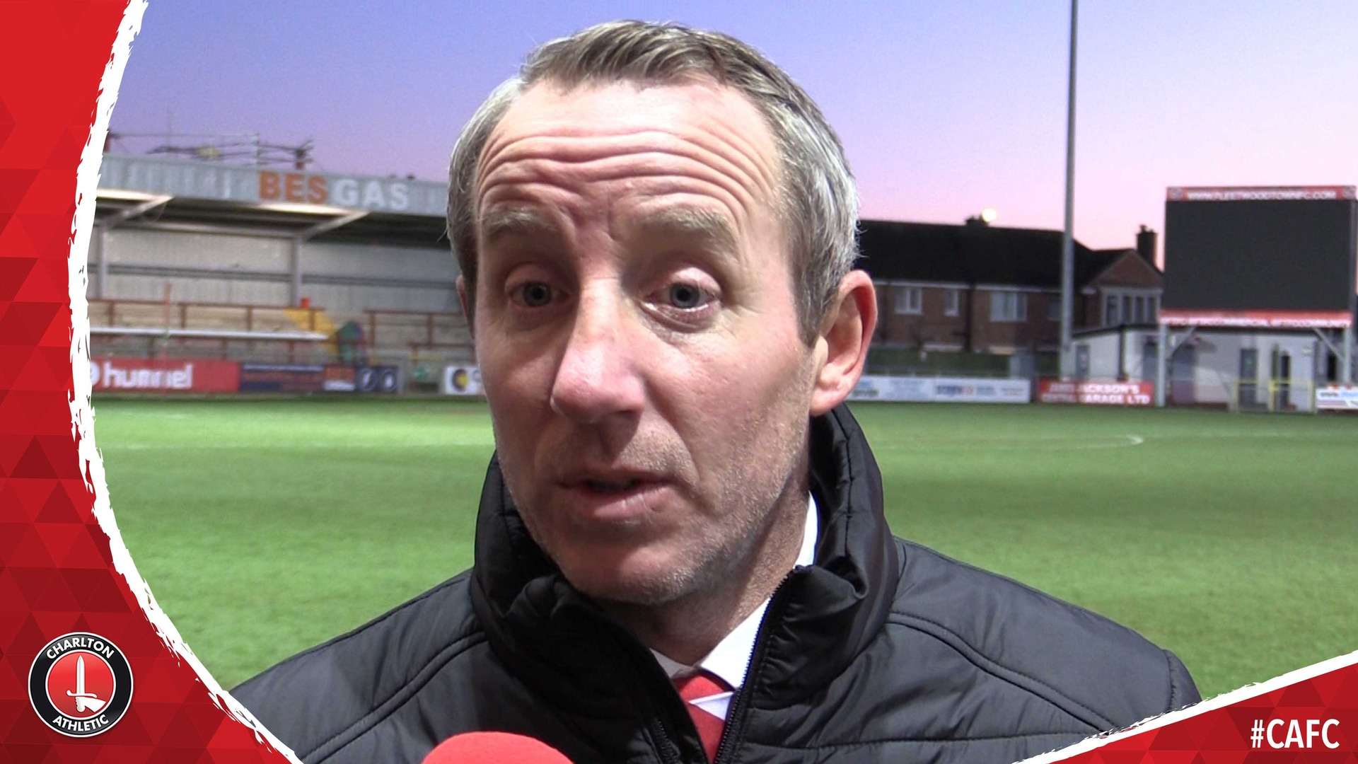 Lee Bowyer on Charlton's 1-0 defeat at Fleetwood Town (February 2019)