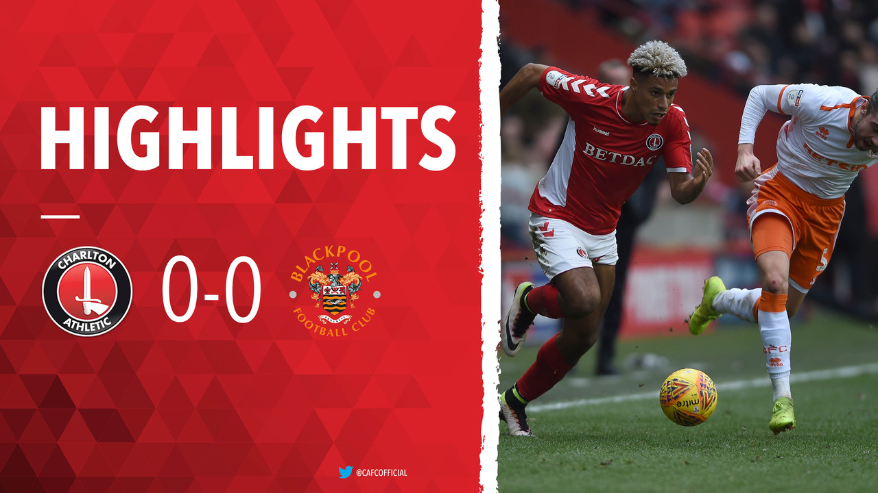 40 HIGHLIGHTS | Charlton 0 Blackpool 0 (February 2019)