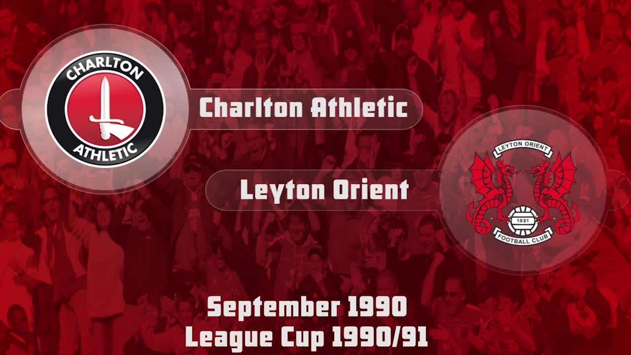 07 HIGHLIGHTS | Charlton 2 Leyton Orient 2 (League Cup Sep 1990)