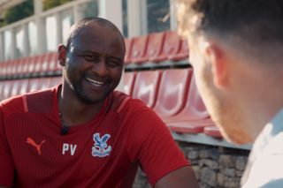 Vieira answers questions from members