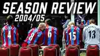 Crystal Palace Season Review 2004-2005