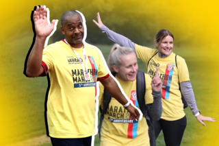 Palace for Life Marathon March 2021