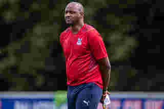 Patrick Vieira's first interview as Crystal Palace manager