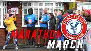 Palace for Life Marathon March   2019...with Eddie Izzard!