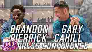 Gary Cahill and Brandon Pierrick   Junior Members Press Conference
