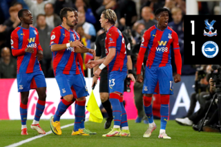 Extended highlights: Crystal Palace 1-1 Brighton
