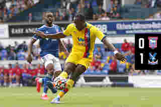 Match Highlights: Ipswich Town 0-1 Crystal Palace