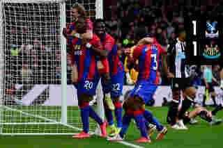 Extended highlights: Crystal Palace 1-1 Newcastle United