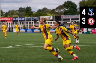 Women's Highlights: Palace 4-3 Bristol City