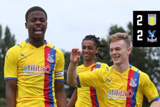 U18 Highlights: Aston Villa 2-2 Palace