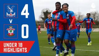 Crystal Palace 4-0 Southampton   U18 Highlights