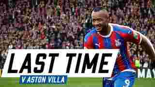 Aston Villa   Last Time Out