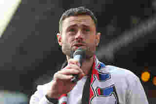 Damien Delaney wins Chairman's Award for Outstanding Contribution