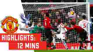 Match Highlights   Manchester United (A)