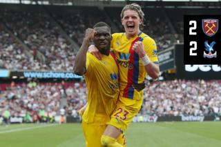 The Full 90: West Ham 2-2 Crystal Palace   Palace TV+