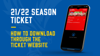 Use the ticket website to download your ticket