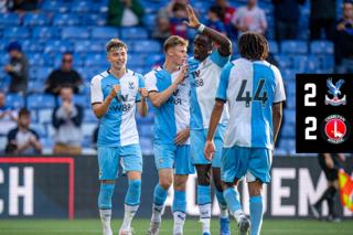 Match Highlights: Crystal Palace 2-2 Charlton Athletic