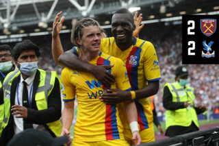 Extended Highlights: West Ham 2-2 Crystal Palace