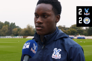 David Ozoh on training with the first team