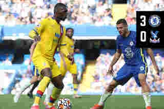 Extended Highlights: Chelsea 3-0 Crystal Palace