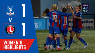 Crystal Palace 1-1 Charlton Athletic | Women's Highlights