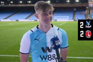 Scott Banks post-match interview | Charlton Athletic
