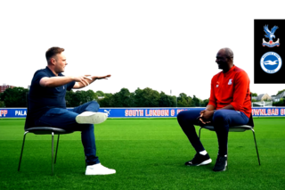 Vieira chats to Tubes about the passion of Palace fans