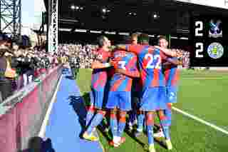 Extended Highlights: Palace 2-2 Leicester City