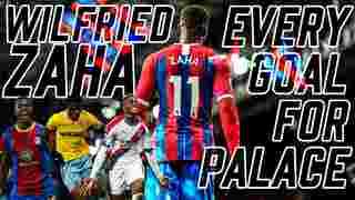 Wilfried Zaha | Every Goal for Palace