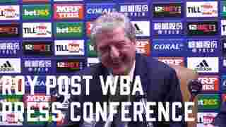 Roy Hodgson   WBA Press Conference