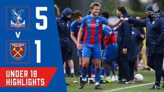 Crystal Palace 5-1 West Ham | U18 Highlights