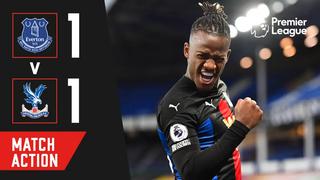 Everton 1-1 Crystal Palace | Match Action