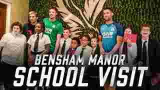 Bensham Manor School Visit
