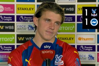 Gallagher reflects on dramatic Brighton draw