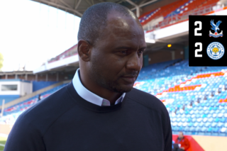 Patrick Vieira on the comeback against Leicester City