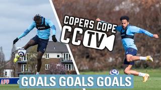CCTV | Mateta hits the woodwork 4 times & Townsend FK masterclass
