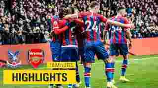 Crystal Palace 1-1 Arsenal   10 Minute Highlights