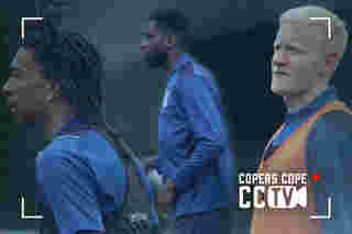 CCTV: Edouard, Olise & Hughes Train