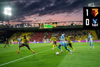 Carabao Cup highlights: Watford 1-0 Crystal Palace