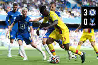 Match Action: Chelsea 3-0 Crystal Palace