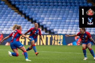 Palace Women Highlights: Palace 1-1 Sunderland