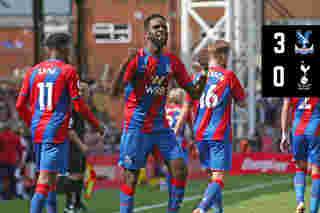 Extended Highlights: Crystal Palace 3-0 Tottenham Hotspur