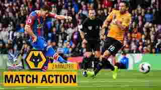 Crystal Palace 1-1 Wolves   2 Minutes Highlights