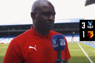 Patrick Vieira post-match interview   Watford