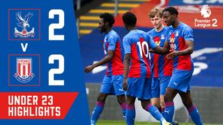 Crystal Palace 2-2 Stoke City | Under 23 Highlights